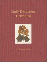 Emily Dickinson`s Herbarium