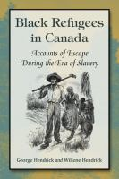 Cover of Black Refugees in Canada