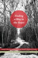 Finding a way to the heart : feminist writings on aboriginal and women's history in Canada