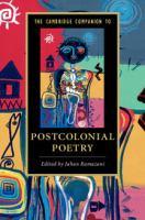 The Cambridge companion to postcolonial poetry