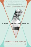 Well-Behaved Woman:  a Novel of the Vanderbilts