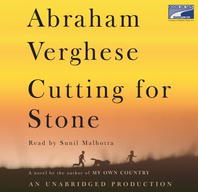Audiobook cover of Cutting for Stone