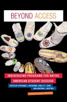 Beyond access : indigenizing programs for Native American student success