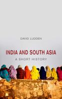 India and South Asia : a short history