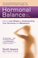 Hormonal Balance : How to Lose Weight by Understanding Your Hormones and Metabolism